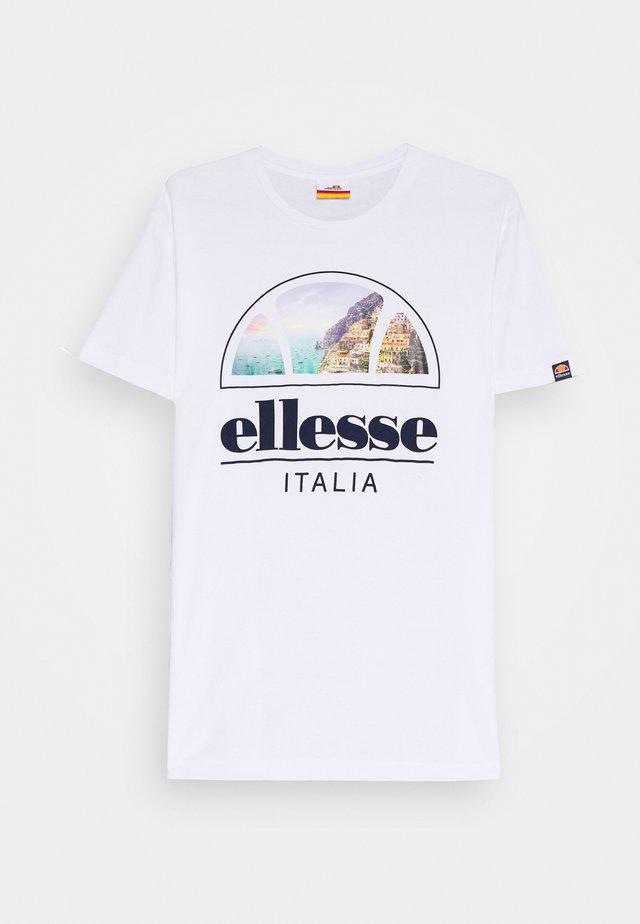 CHIA - T-shirt print - white