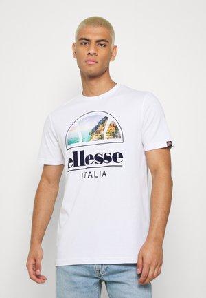 CHIA - T-shirt med print - white