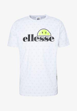 FEETA - Print T-shirt - white