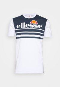Ellesse - VIERRA - T-shirt con stampa - white - 0