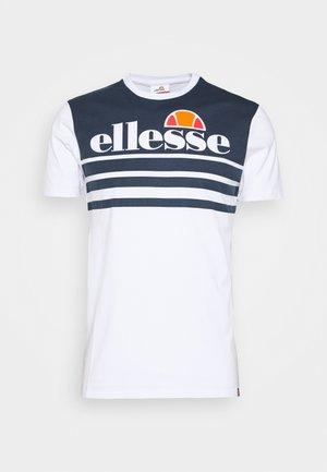 VIERRA - Print T-shirt - white