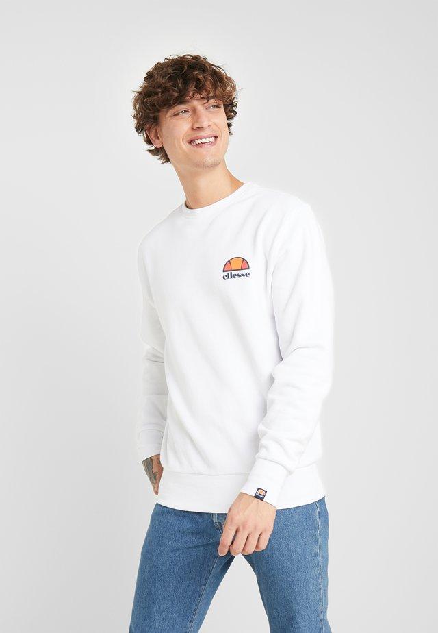 DIVERIA - Sweatshirt - white