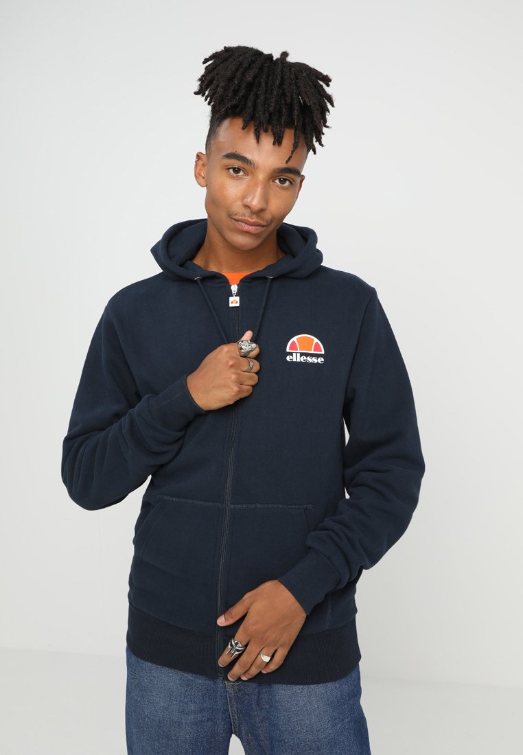 Ellesse - MILETTO - Zip-up hoodie - dress blues