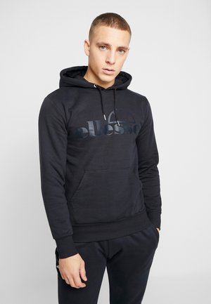 GIANEL - Sweat à capuche - black
