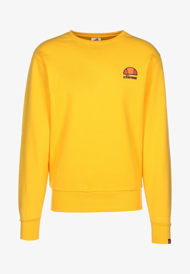 DIVERIA - Sweater - yellow