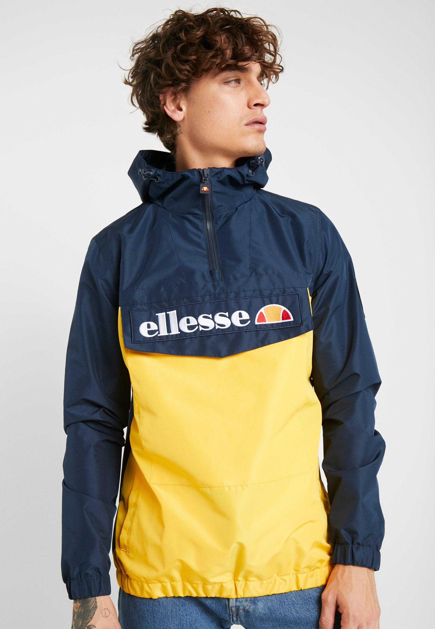 Ellesse Wiatrówka - yellow/navy