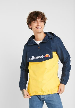 Windbreaker - yellow/navy