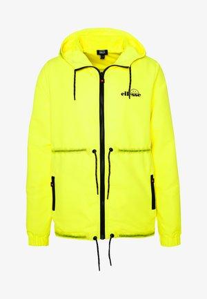 CORPUS - Giacca leggera - neon yellow