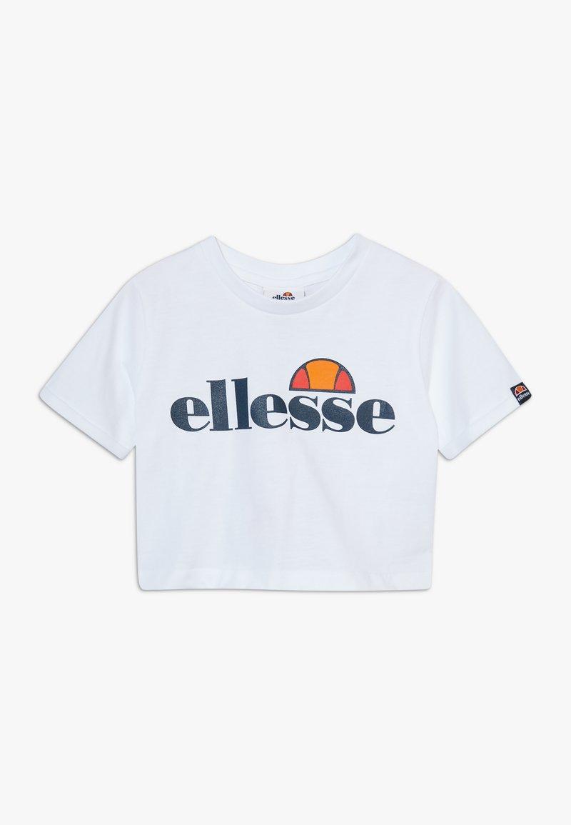 Ellesse - NICKY - T-shirt print - white