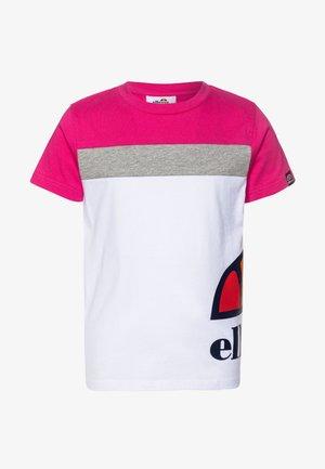 XELIO - T-shirt imprimé - white