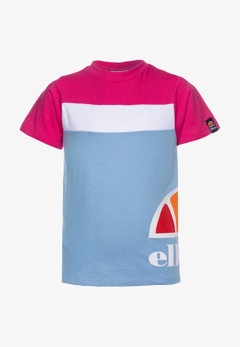 Ellesse - XELIO - Print T-shirt - light blue