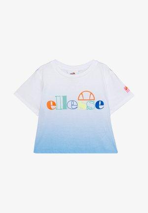 FINZO - Print T-shirt - blue
