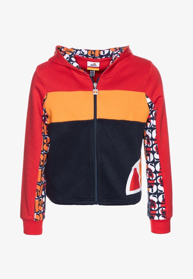 ELIZO - Zip-up hoodie - red