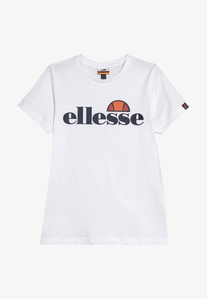 MALIA - T-shirt med print - white