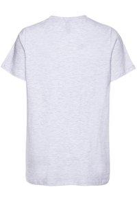 Ellesse - MALIA - T-shirt con stampa - white marl - 1