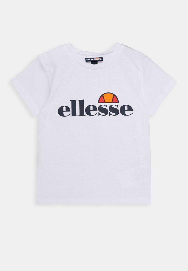 RAZOR BABY - Camiseta estampada - white