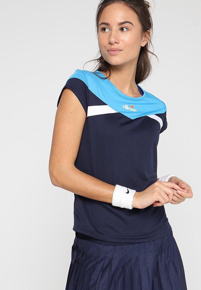 Ellesse - ADRIANA - T-shirt z nadrukiem - navy