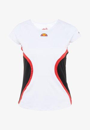 YALENA - Print T-shirt - white