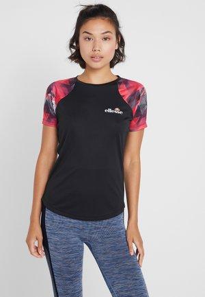 PICANTO - Print T-shirt - black