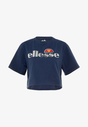 BARLETINO - T-shirt z nadrukiem - navy