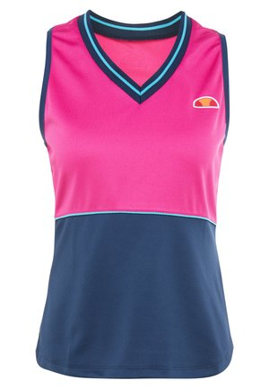 HARMONY - Sports shirt - pink/navy