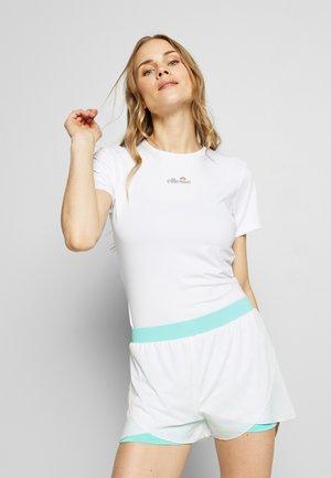 APRILLA - Camiseta estampada - white