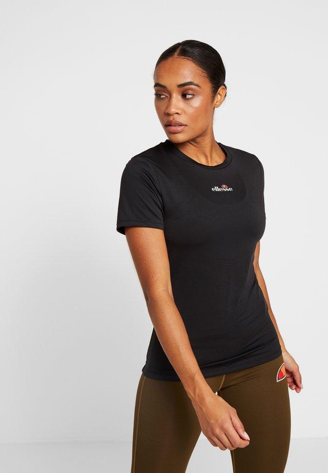 APRILLA - T-shirt med print - black