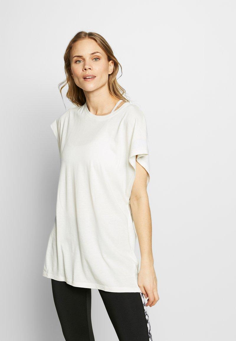 Ellesse - TELLURIDE - Print T-shirt - off white