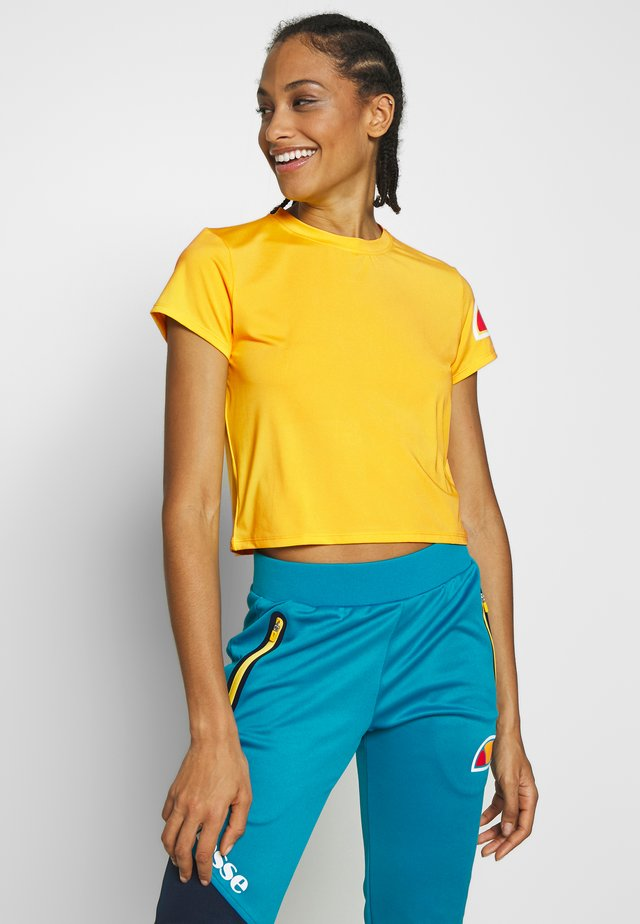 HEPBURN - Print T-shirt - yellow