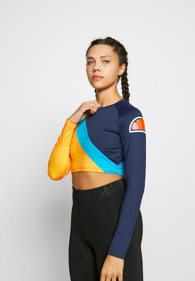 MOREAU - Langærmede T-shirts - navy