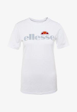CERVIA - Camiseta estampada - white
