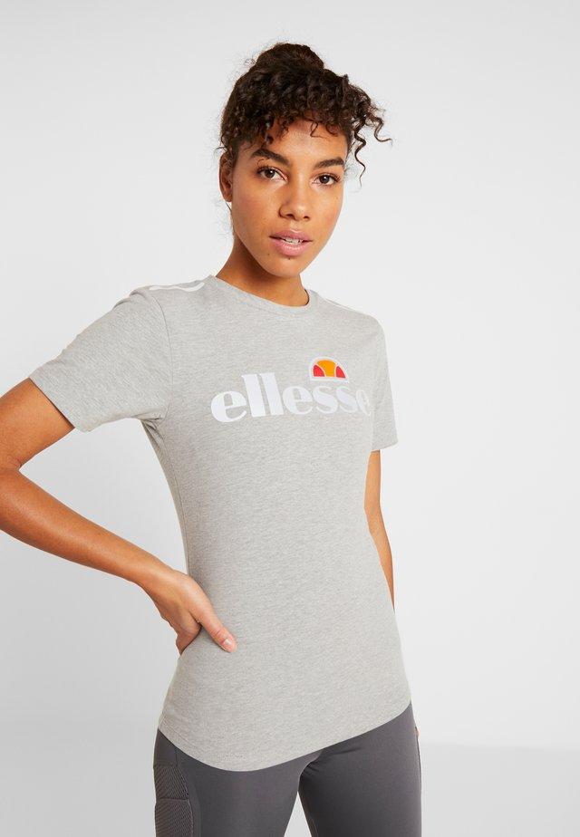 CERVIA - T-shirts print - grey marl