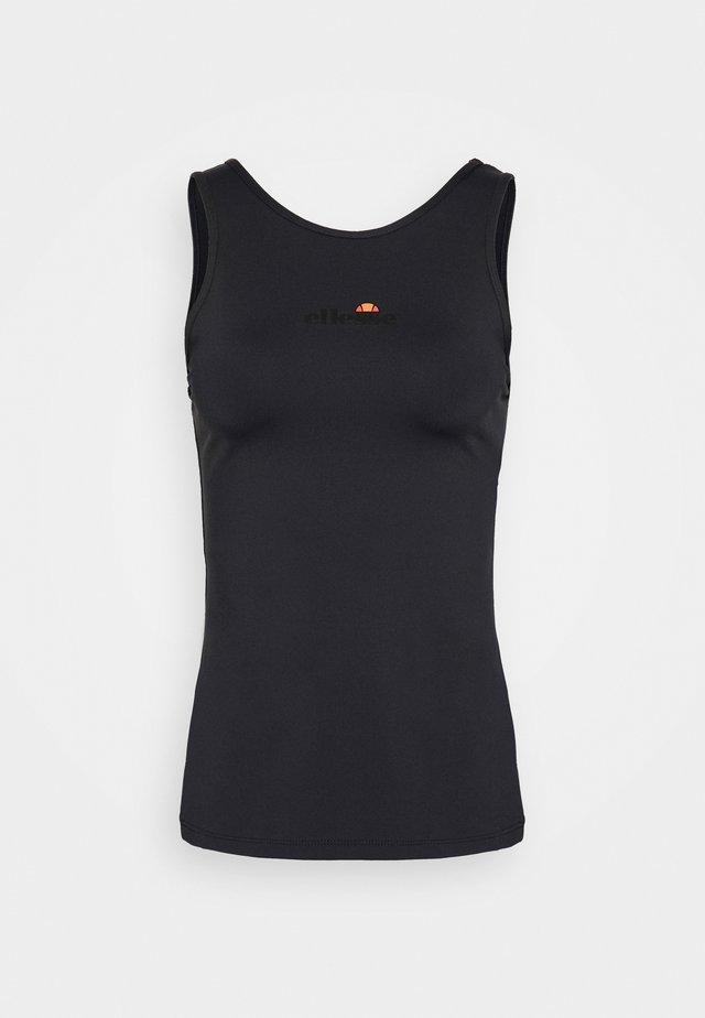 CARBON - Funkční triko - black