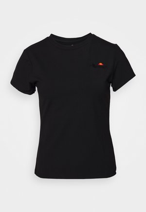 NARCISSA - Jednoduché triko - black