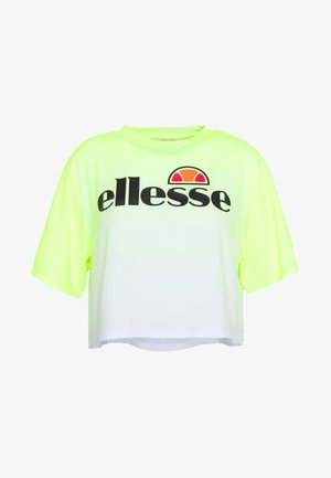 FELTRE - T-shirts med print - neon yellow