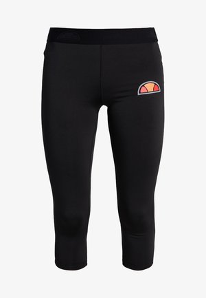 PORTICI - Pantalon 3/4 de sport - black
