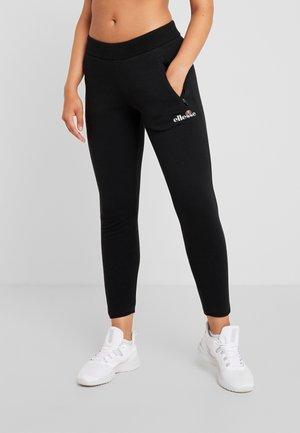 POTENZA - Teplákové kalhoty - black