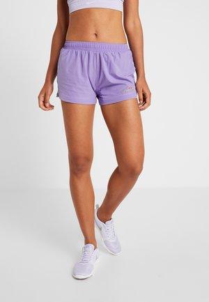 GENOA - Pantalón corto de deporte - purple
