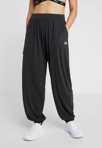 Ellesse - SAWHNEY - Pantalon de survêtement - dark grey marl - 0