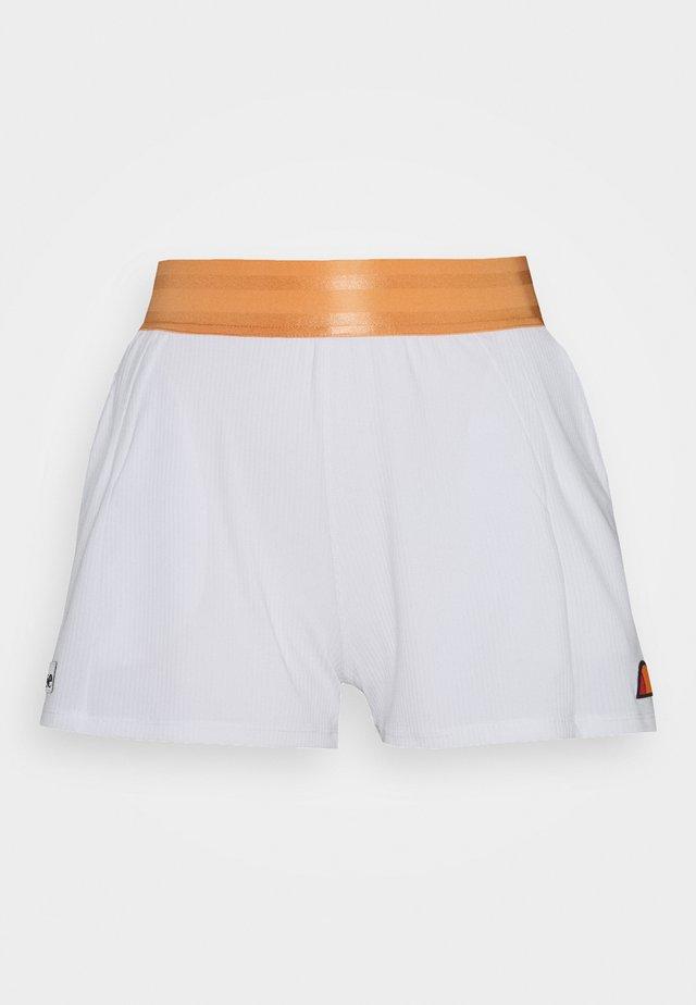 MODE - Korte sportsbukser - white