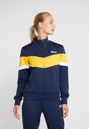 REY TRACK  - veste en sweat zippée - navy