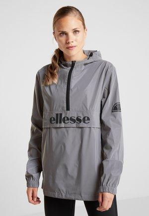 BECKO JACKET - Sportovní bunda - silver