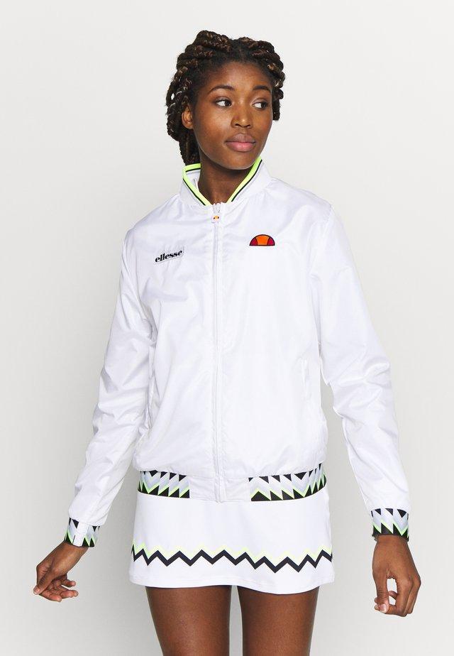 VITALIA - Træningsjakker - white