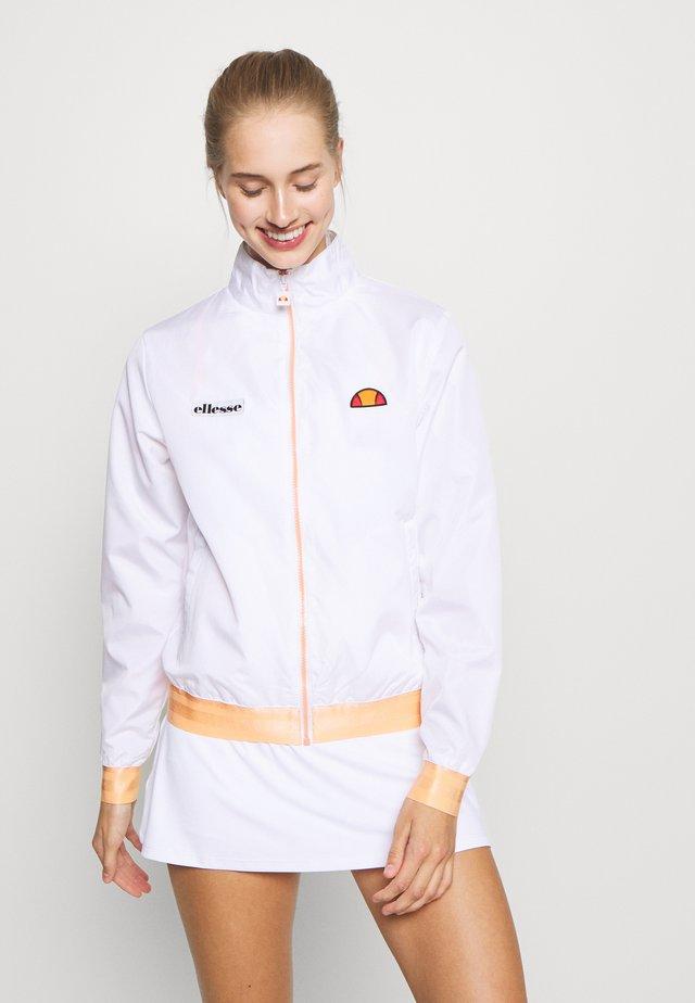 FLAIR - Træningsjakker - white
