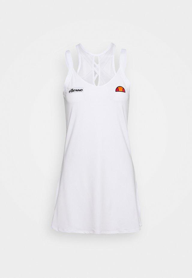 FINESSE - Sportovní šaty - white