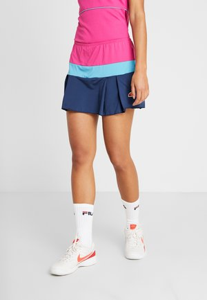 KENDRA - Sports skirt - pink/navy