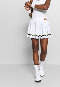 Ellesse - CONTENDER - Sportovní sukně - white - 0
