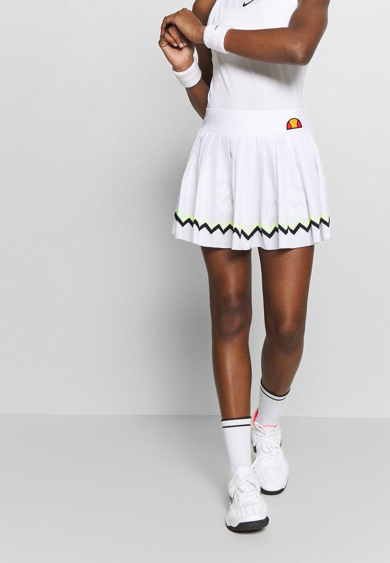 Ellesse - CONTENDER - Sportovní sukně - white