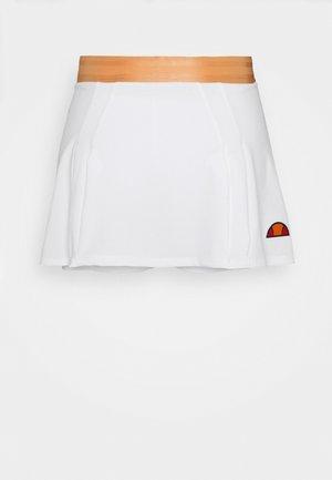 CALI - Sportovní sukně - white