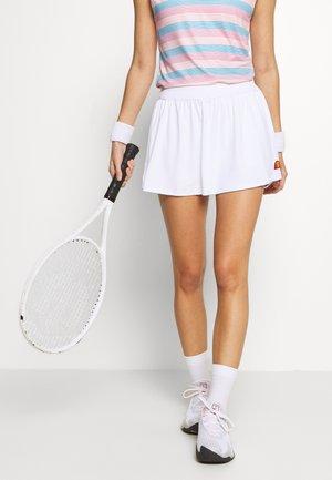 TRIONFO - Sports skirt - white
